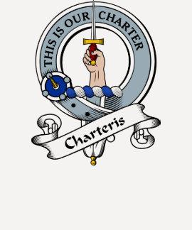 Charteris Clan Badge Tshirts