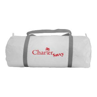 CharterSavvy Logo Duffel Bag Bareboating Charters