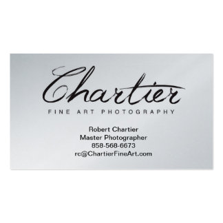 Chartier B-Cards Double-Sided Standard Business Cards (Pack Of 100)