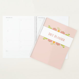 Charting Diet and Nutrition for Home or Business Planner