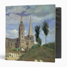 Chartres Cathedral, 1830 3 Ring Binder