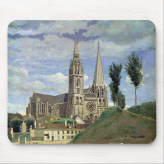 Chartres Cathedral, 1830 Mouse Pad