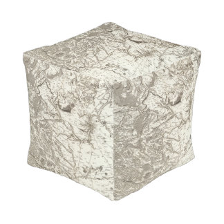 Chartres Cube Pouf