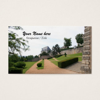 Chartres Gardens Business Card