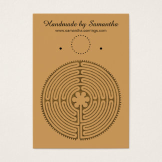 Chartres Labyrinth antique style + your ideas Business Card