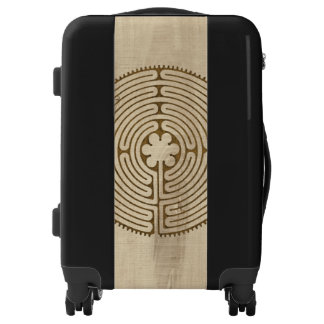 Chartres Labyrinth antique style + your ideas Luggage