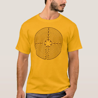 Chartres Labyrinth antique style + your ideas T-Shirt