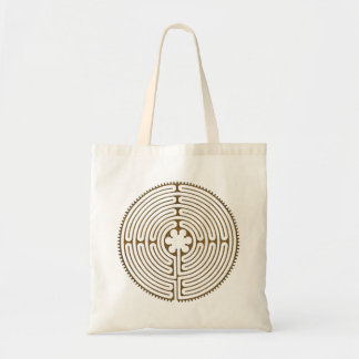 Chartres Labyrinth antique style + your ideas Tote Bag