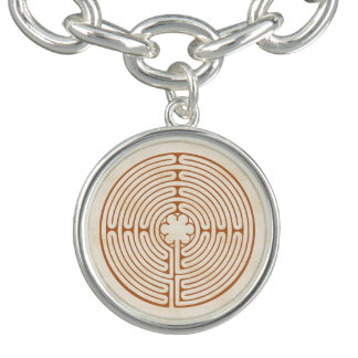 Chartres Labyrinth Charm Bracelets