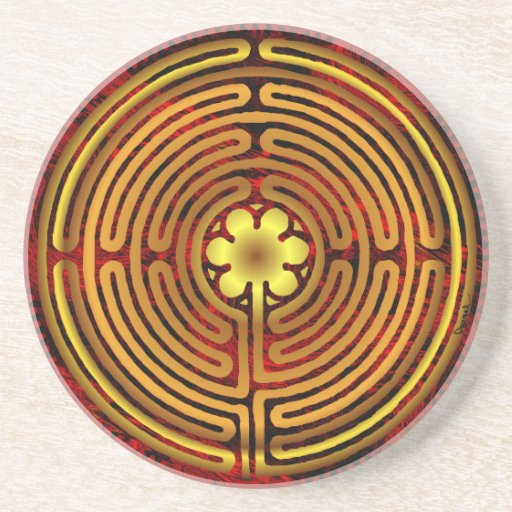 Chartres Labyrinth Fire Coaster
