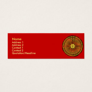 Chartres Labyrinth Fire Profile Cards