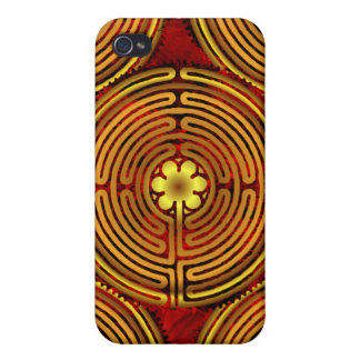 Chartres Labyrinth Fire Speck Case