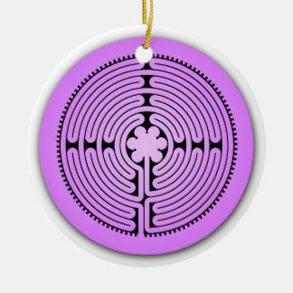 Chartres Labyrinth Ornament