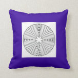 Chartres Labyrinth Pillow Mind Body Healing Gifts