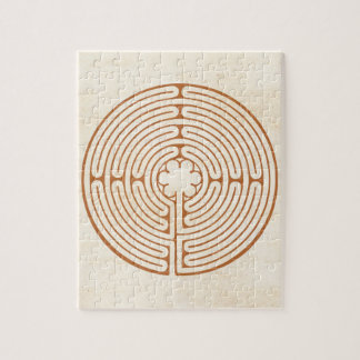 Chartres Labyrinth Puzzle