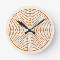 Chartres Labyrinth Round Clock