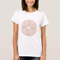 Chartres Labyrinth T-Shirt
