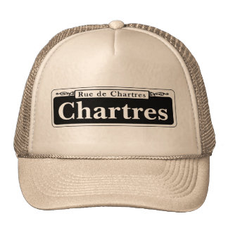 Chartres St., New Orleans Street Sign Trucker Hat