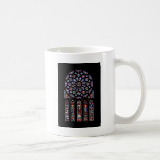 CHARTRES VI STAINED GLASS COFFEE MUG