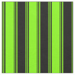 [ Thumbnail: Chartreuse and Black Pattern Fabric ]