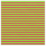 [ Thumbnail: Chartreuse and Crimson Colored Lines Fabric ]