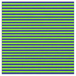 [ Thumbnail: Chartreuse and Dark Blue Colored Stripes Fabric ]