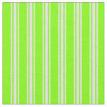 [ Thumbnail: Chartreuse and Lavender Striped/Lined Pattern Fabric ]