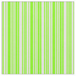 [ Thumbnail: Chartreuse and Light Cyan Colored Lines Fabric ]