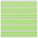 [ Thumbnail: Chartreuse and Light Gray Colored Pattern Fabric ]