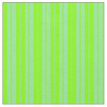 [ Thumbnail: Chartreuse and Light Green Stripes/Lines Pattern Fabric ]