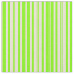 [ Thumbnail: Chartreuse & Bisque Colored Striped Pattern Fabric ]
