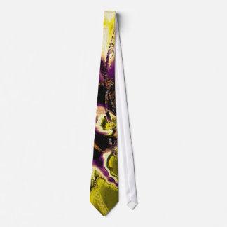 Chartreuse & Blackcurrent  Tie