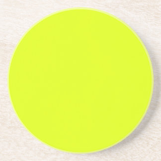Chartreuse Drink Coaster