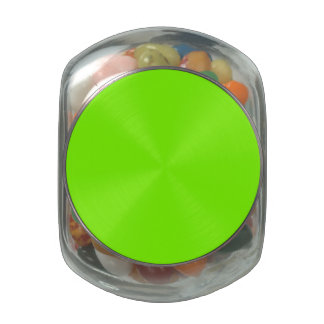 Chartreuse Green Background Jelly Belly Candy Jars
