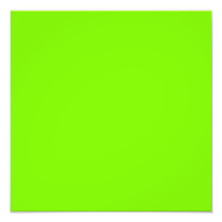 Chartreuse Green Background Photo Print