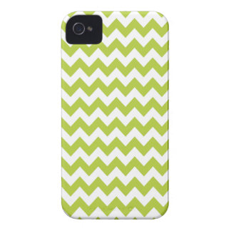 Chartreuse Green Chevron Iphone 4 or 4S Case