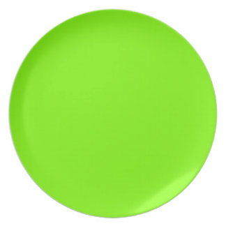 Chartreuse Green Plate