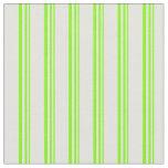[ Thumbnail: Chartreuse & Light Cyan Colored Pattern Fabric ]