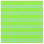 [ Thumbnail: Chartreuse & Light Green Lined/Striped Pattern Fabric ]