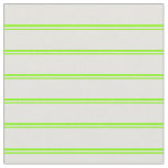 [ Thumbnail: Chartreuse & Light Yellow Colored Stripes Fabric ]