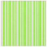 [ Thumbnail: Chartreuse & Light Yellow Lined Pattern Fabric ]