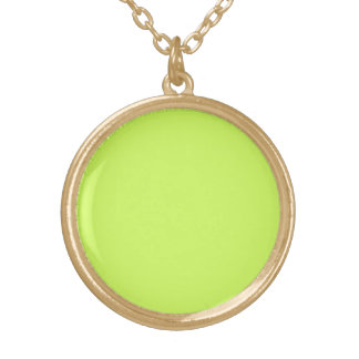 Chartreuse Custom Necklace
