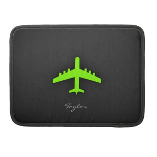 Chartreuse, Neon Green Airplane Sleeve For MacBook Pro
