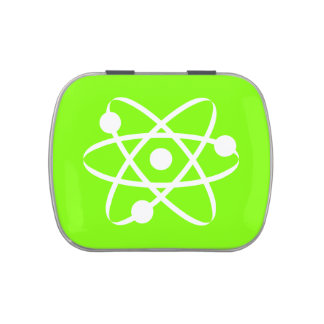 Chartreuse, Neon Green Atom Jelly Belly Tins
