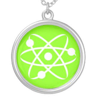 Chartreuse, Neon Green Atom Custom Jewelry