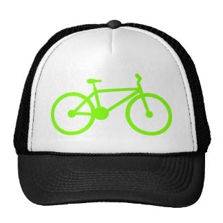Chartreuse, Neon Green Bicycle Hats