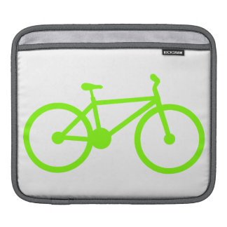 Chartreuse, Neon Green Bicycle Sleeve For iPads
