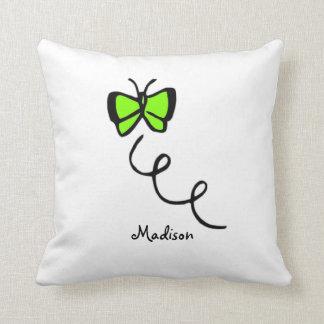 Neon Blue Throw Pillows : Chartreuse Pillows - Decorative & Throw Pillows Zazzle