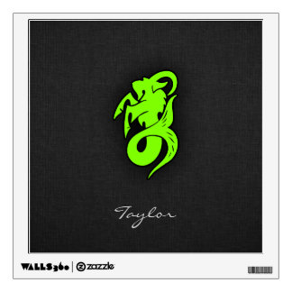 Chartreuse, Neon Green Capricorn Goat Wall Sticker