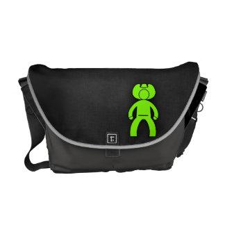 Chartreuse, Neon Green Cowboy Messenger Bag